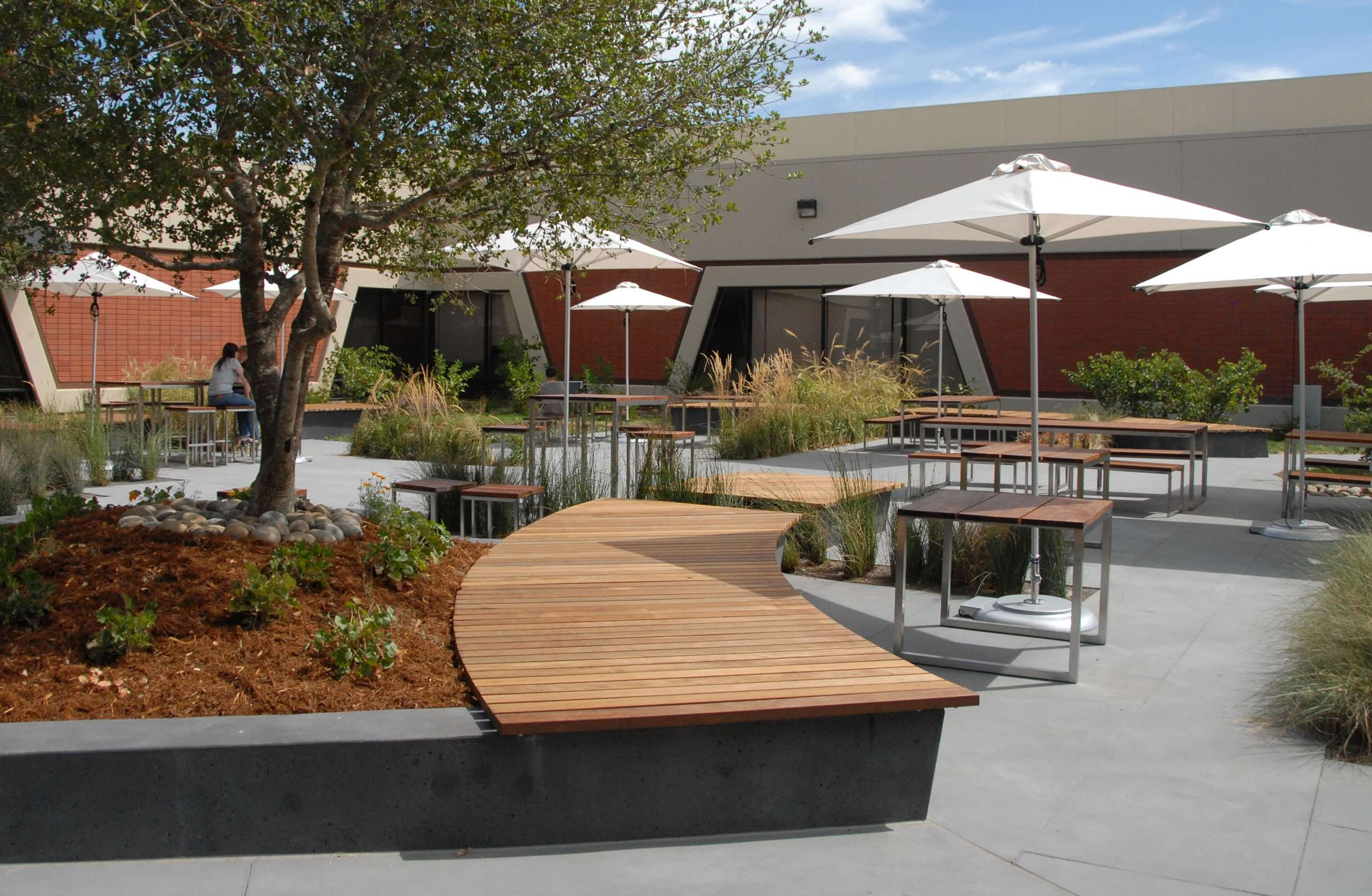 Corporate Courtyard